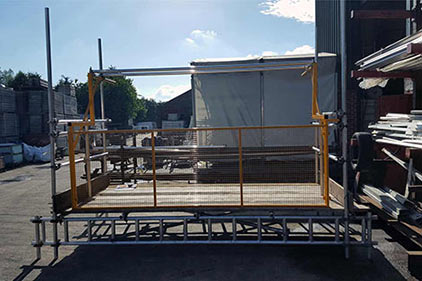 Apollo Scaffold Services Loading Bay Gates - Image 7