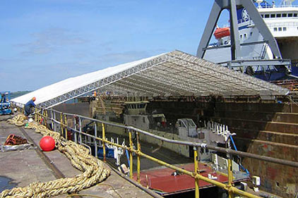 Apollo Scaffold Services Temporary Roofing Products - Image 1