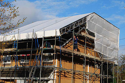 Apollo Scaffold Services Temporary Roofing Products - Image 5