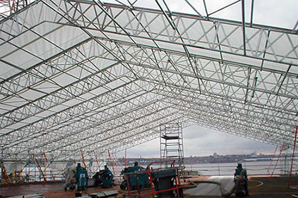 Apollo Scaffold Services Temporary Roofing Products - Image 7