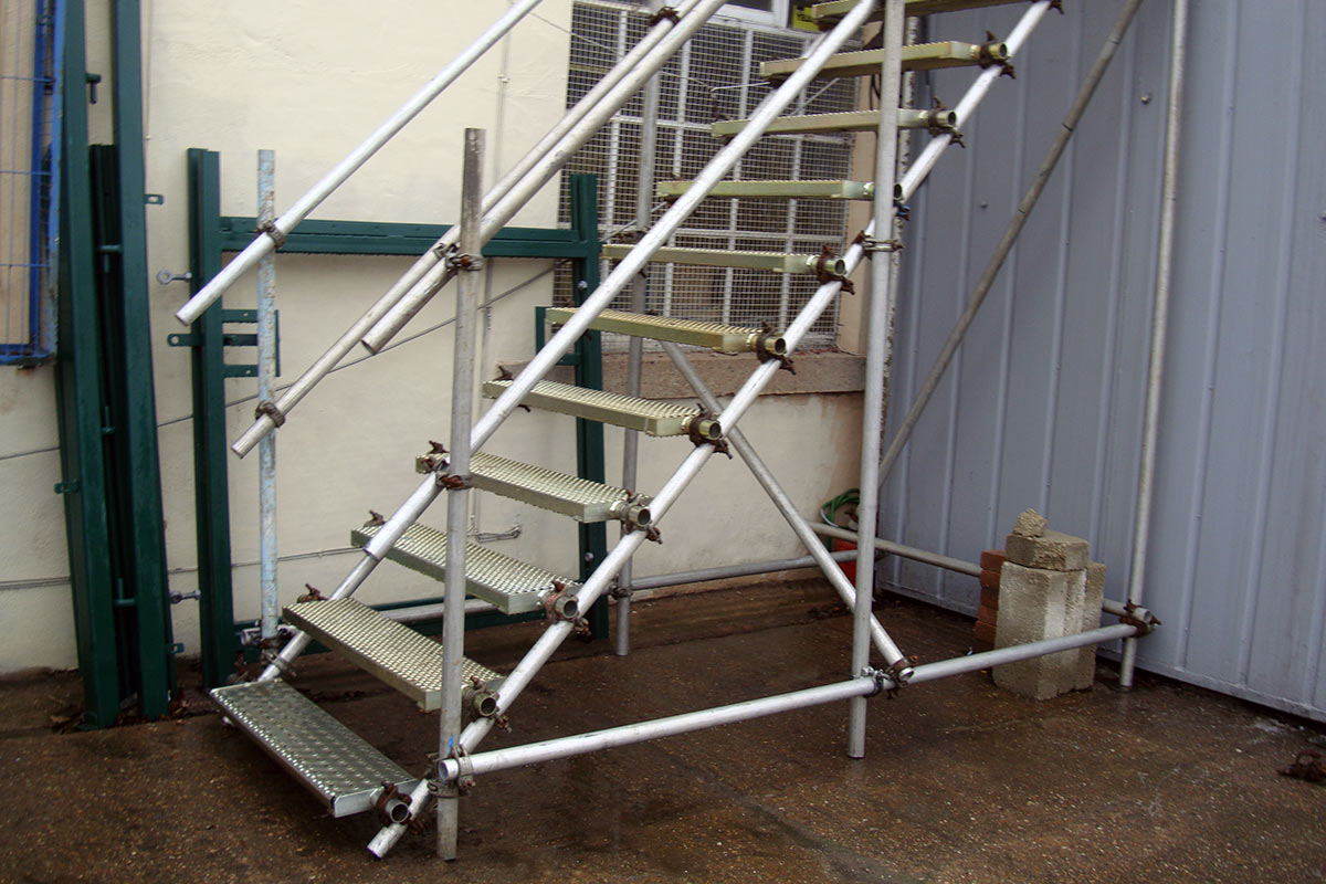 Apollo Scaffold Services Stair Treads & Public Access Steps - Image 8
