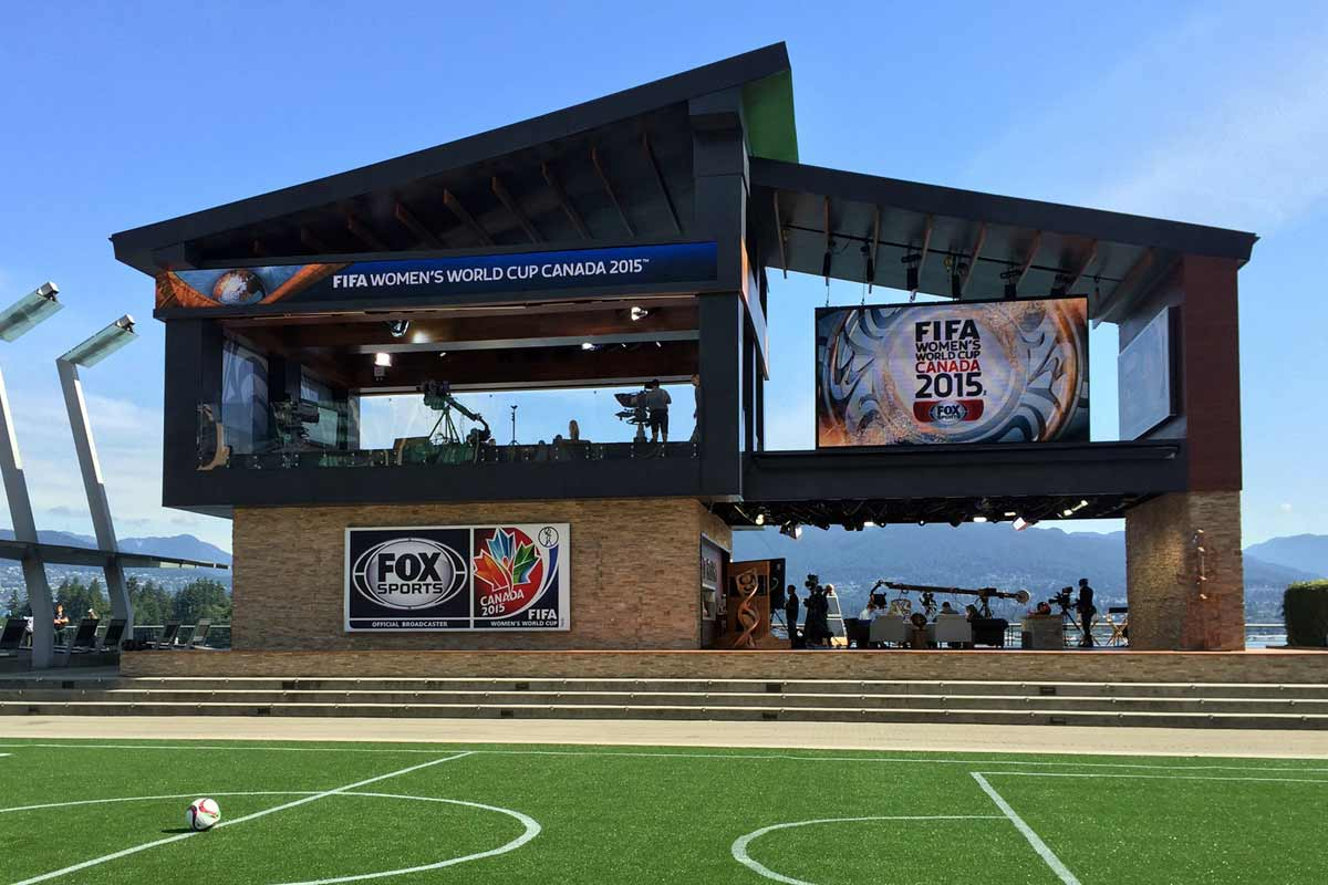 Fox Sports Womens World Cup Studio - Image 9